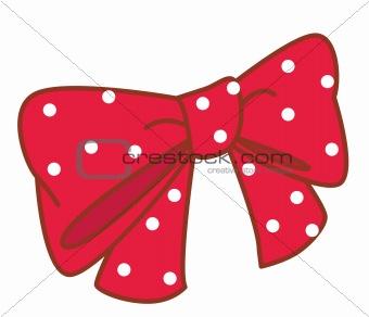 a red cravat