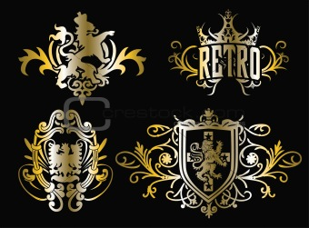 image 2753070 crest fancy shield design from crestock stock photos