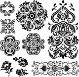 paisley drawing element