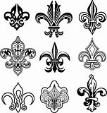 fleur de lis design
