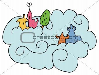 city on cloud
