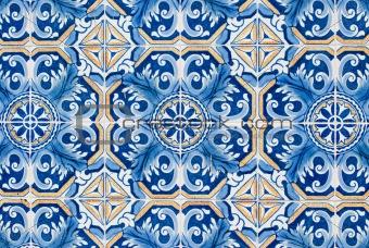 Portuguese glazed tiles 224