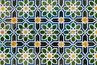 Portuguese glazed tiles 227