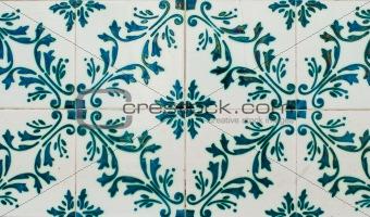 Portuguese glazed tiles 228