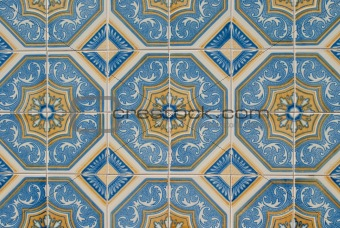Portuguese glazed tiles 229