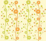 daisy flower pattern