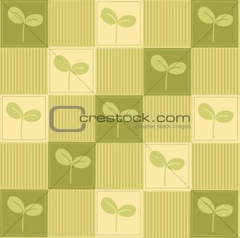 green seeding background