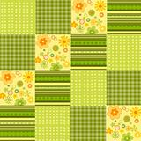 flower spots and line background