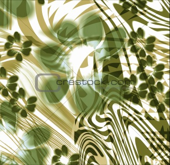 abstract flower silk background