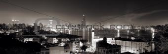 city night scene of panorama