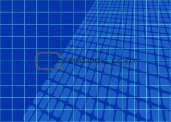Abstract Blueprints Grid