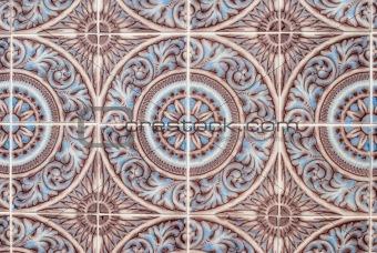 Portuguese glazed tiles 231