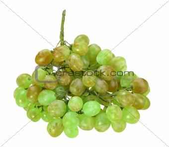 Single bunch of green grape