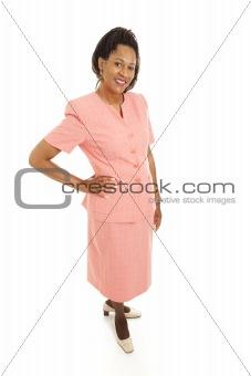 Beautiful Businesswoman - Full View