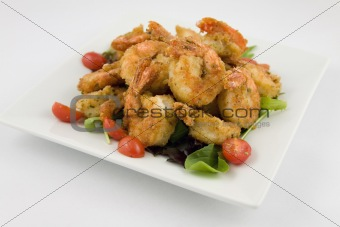 Fried Shrimp appetizer