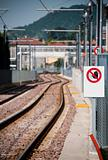 Train no walking