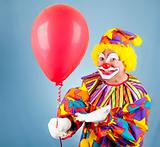 Clown with Balloon for You