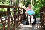 Disabled Seniors in Park