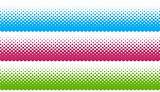 halftone colorful design