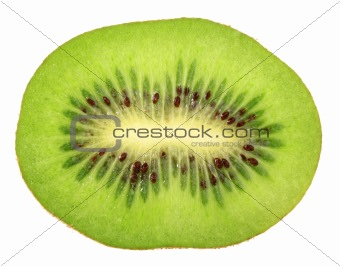 Single cross section of kiwi