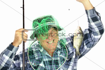Fisherman With Net