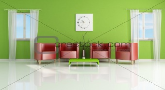modern living- room