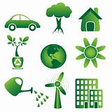 Icon set ecology