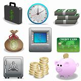 Icon set-Finance