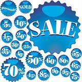 Blue Sale
