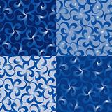 Seamless ornament swirl pattern