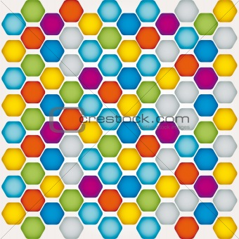 background vector mosaic