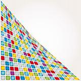 background vector mosaic illustration