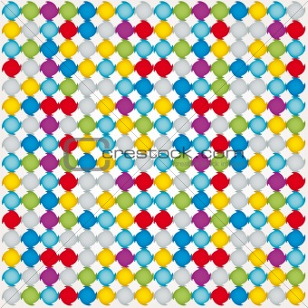 background vector mosaic illustration