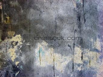 old crannied plaster