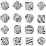 Design elements with zebra pattern
