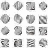 Design elements with zebra pattern