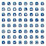 presentation icons symbol. vector