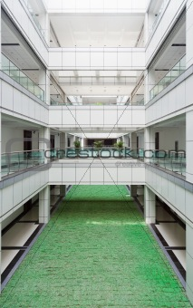 Atrium in an office building