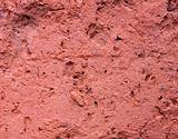 red concrete