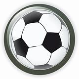 Vector soccer game ball illustration world cup