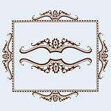Vector Frame and Ornaments