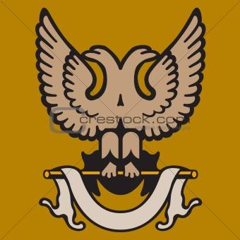 Vector Eagle Ornament