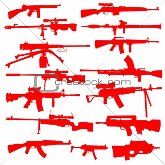 Vector Set of Guns