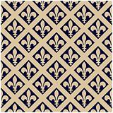 Seamless Fleur De Lys Pattern