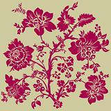 Vector Floral Oranament
