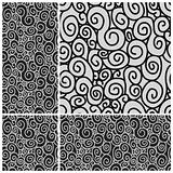 Vector Seamless Swirl Pattern