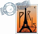 Postmark from france