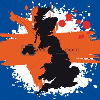 British Flag symbols