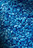 Smooth blue decorative stone background