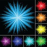 Color abstract firework